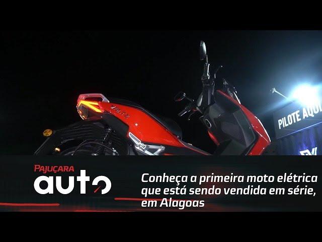 Conheça a primeira moto elétrica que está sendo vendida em série, em Alagoas
