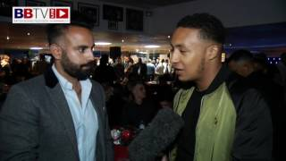 ZELFA BARRETT; ON BRITISH TITLE ELIMINATOR AND GIVES ADVICE TO YOUNG FIGHTERS