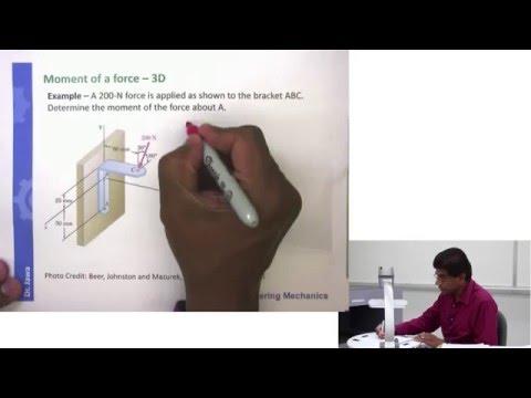 Vector Statics: Cross Product