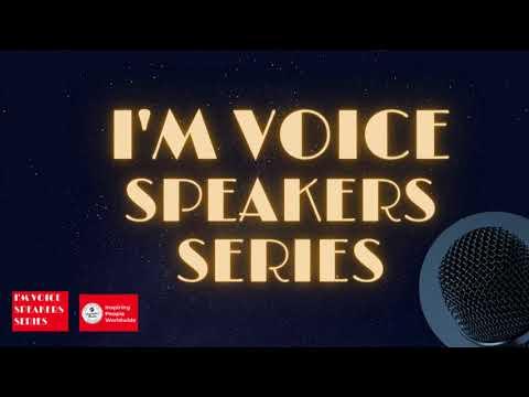 I'M Voice Speaker 2020 - Nandita Narayanan - The Marvelous Machu Picchu