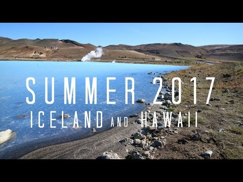 ICELAND + HAWAII TRAVEL DIARY - Summer 2017