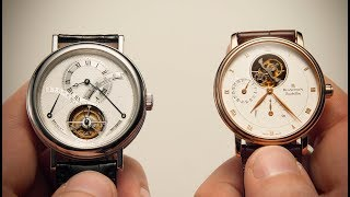 Watchfinder & Co. presents: In a cake made of watch parts, the tour...