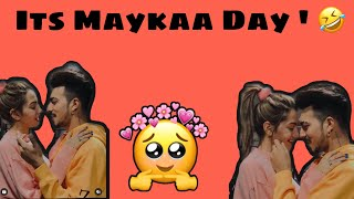 It's Mayka Day 😂✌🏻.. ( Sam Akele they ! )