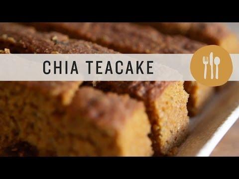 Superfoods - Chia Teacake