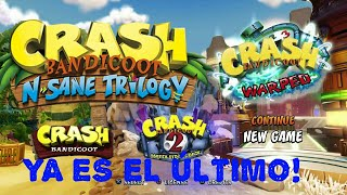 LA ÚLTIMA AVENTURA - Crash Bandicoot 3 Warped (N Sane Trilogy)