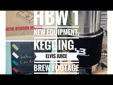 HBW 1 - Short Brewing Update- New Equipment, Bit Of Kegging, Bit Of Brewing.
