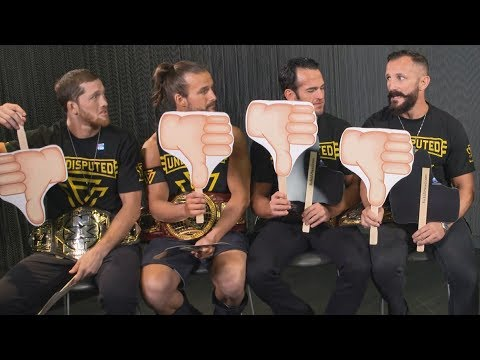 The Undisputed ERA live NXT TakeOver: Brooklyn 4 interview: WWE Now