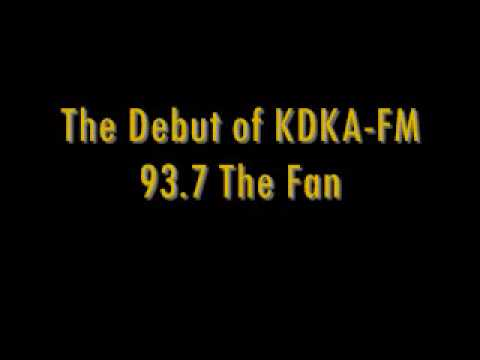Debut of 93.7 The Fan in Pittsburgh