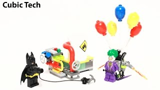 Lego Batman Movie 70900 The Joker Balloon Escape - Lego Speed Build