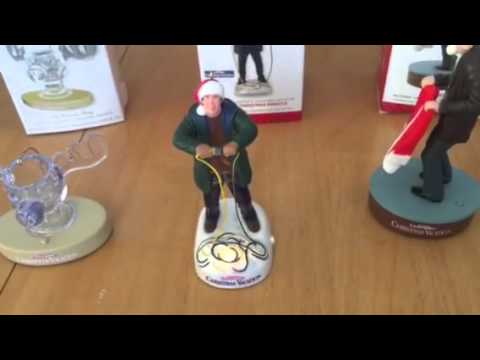 national lampoons christmas vacation hallmark ornaments - National Lampoons Christmas Vacation Decorations