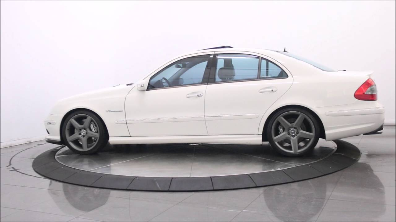2006 mercedes benz e55 amg sport sedan youtube. Black Bedroom Furniture Sets. Home Design Ideas
