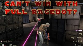 He can't win with a FULL RAGEBOT? CS:GO OVERWATCH
