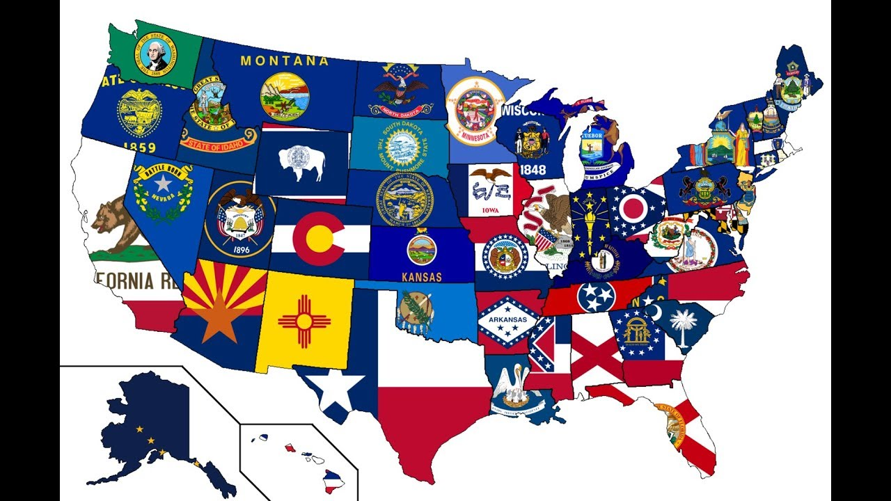 Learn the state flags