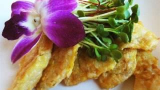 Pollock Fish Pancakes (dongtaejeon: 동태전)