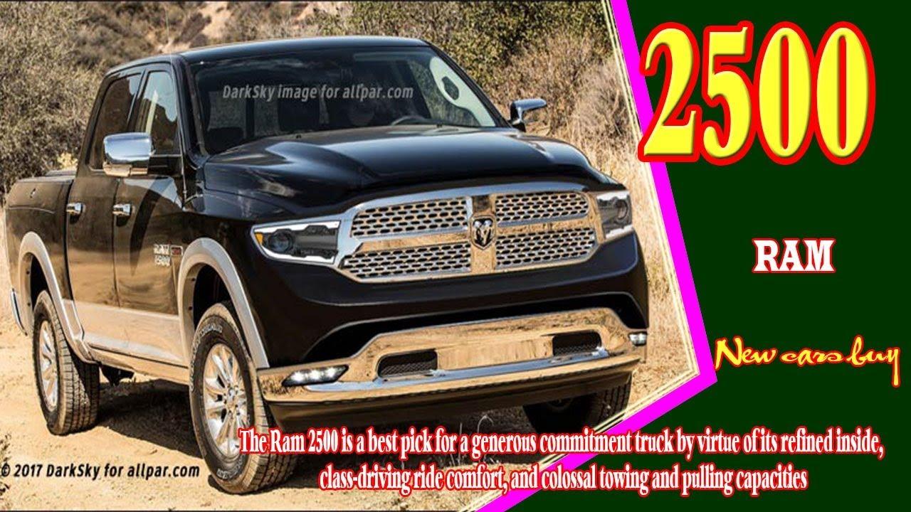2019 Ram 2500 Diesel Redesign | Car Models 2018 - 2019