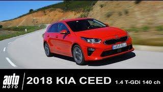 2018 KIA CEED 1.4 T-GDi 140 ch ESSAI Auto-Moto.com