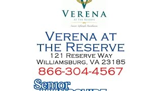 Verena at the Reserve 121 Reserve Way Williamsburg, VA 23185 866-304-4567