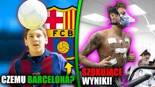 Dlaczego Leo Messi trafił do FC Barcelony? Wyniki badań Neymara! PIŁKARSKIE CIEKAWOSTKI #4