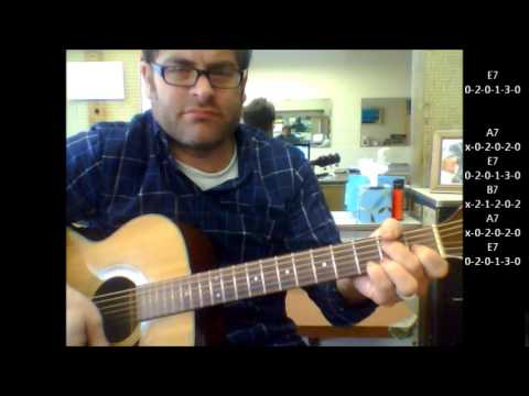 """How to play """"Ruby Baby"""" by Dion on acoustic guitar"""