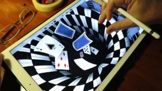 Amaziograph Speed Drawing -  The Spades Vortex