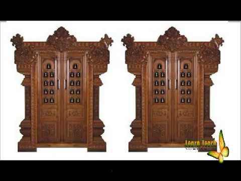 Extraordinary Asian Door Carving Design L New Model Pooja Room Front Door  Collections,