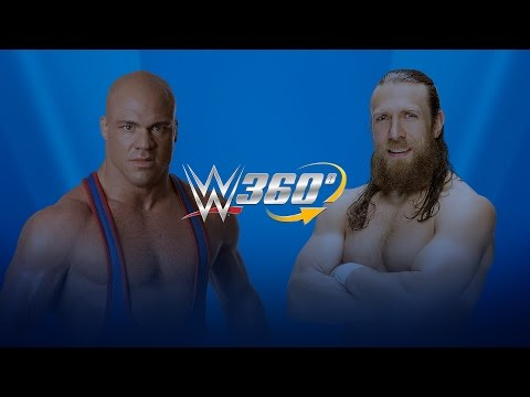 Daniel Bryan and Kurt Angle debate over a WrestleMania Dream Match: WWE 360° Virtual Interviews
