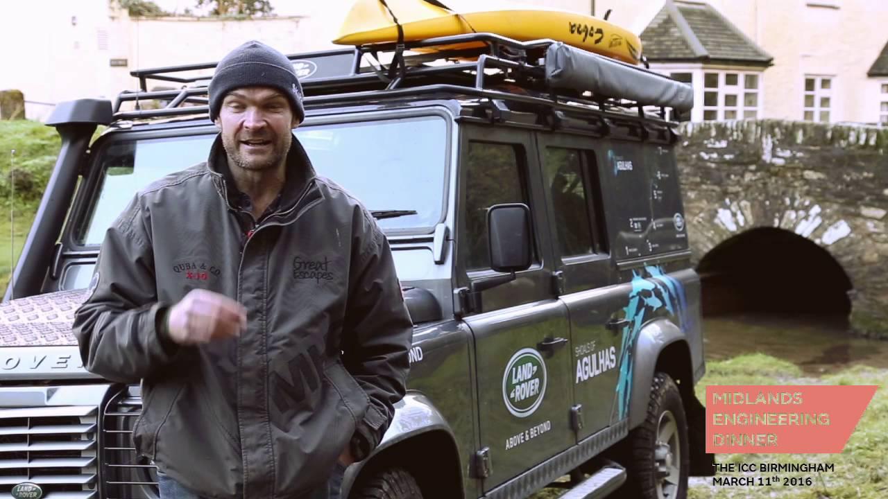 Monty Halls talks Land Rover Defender - YouTube