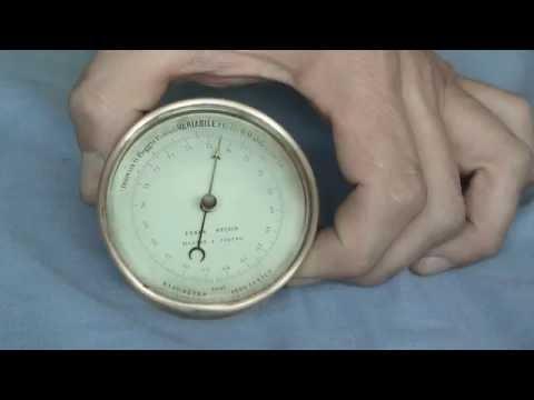 Pressure testing an Aneroid Barometer