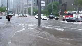 Rain Storm in Montreal 29 May 2012.MOV
