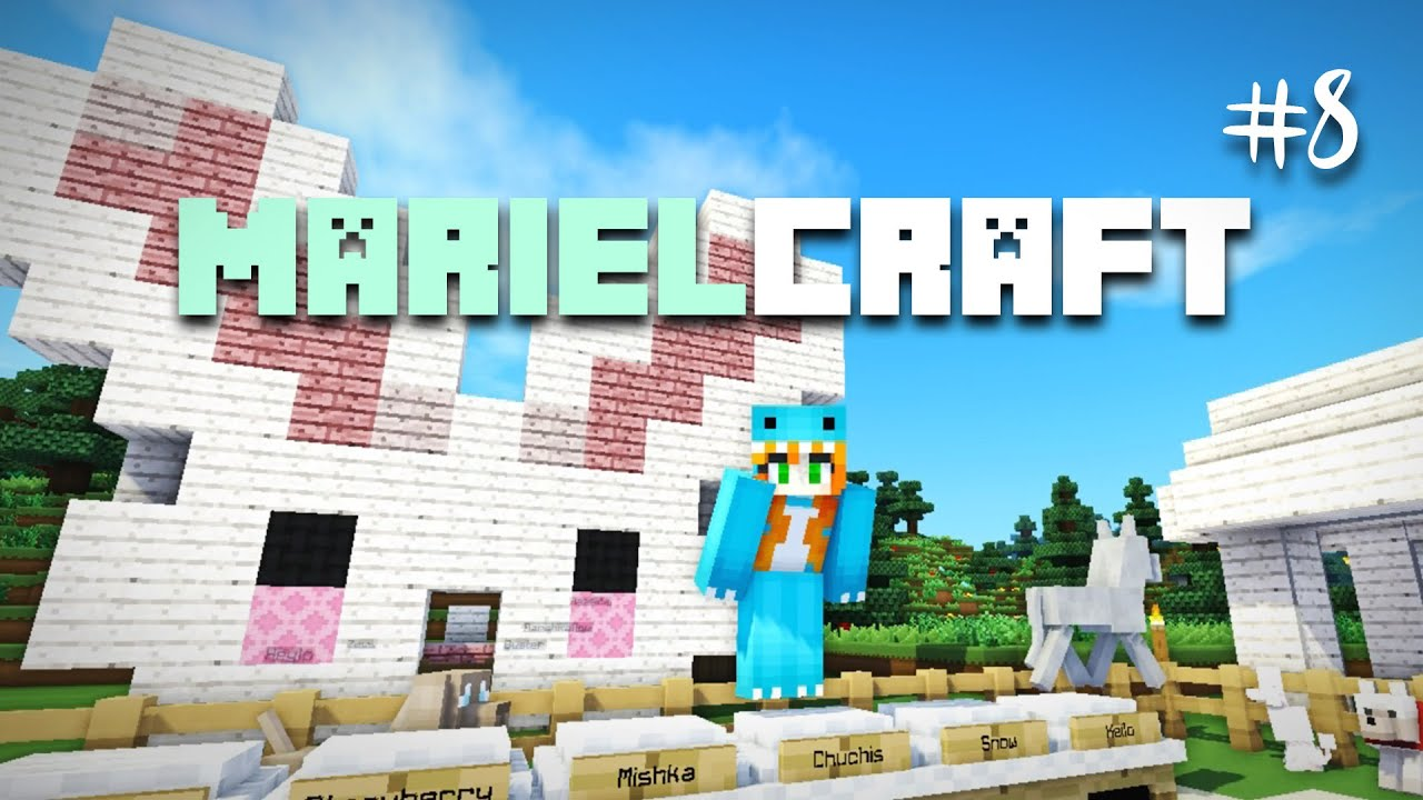 Marielcraft ep08 cute bunny house minecraft mods youtube ccuart Images