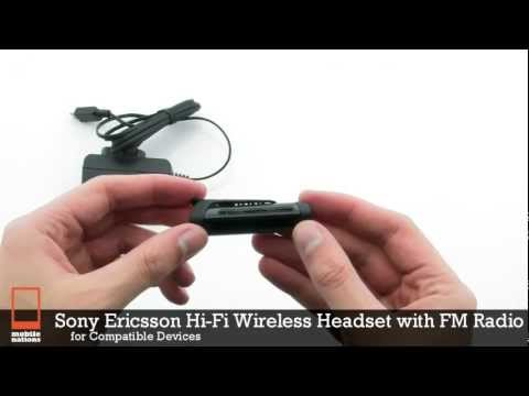 Sony Ericsson Hi-Fi Wireless Headset with FM Radio MW600