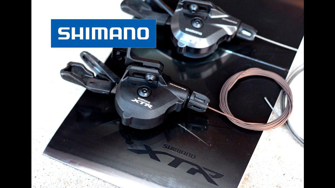 Shimano XTR M9000 11 Speed Rear Shifter vs XT M8000