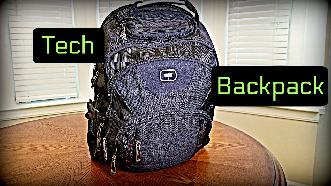 OGIO PROSPECT TECH BACKPACK Review with Gadgets and Other ...