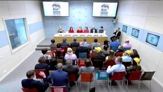 Предварительное голосование: дебаты. Москва. 17.04.16