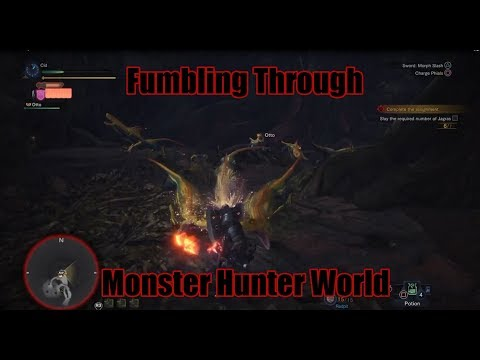 MHW: Episode 1: Jagras hunt, and talking about Babies, Pirates, Whaling, and Feminism.