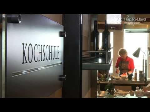 EUROPA 2 Kochschule: Kochkurse auf hoher See
