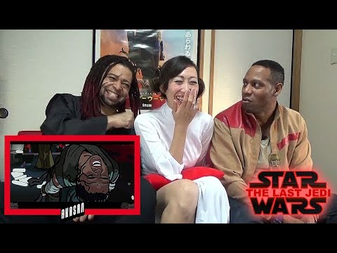Star Wars The Last Jedi Trailer Spoof - TOON SANDWICH - REACTION & REVIEW