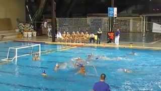 VK Zemun - VK Beograd 13:11 2.Uroš Vuković