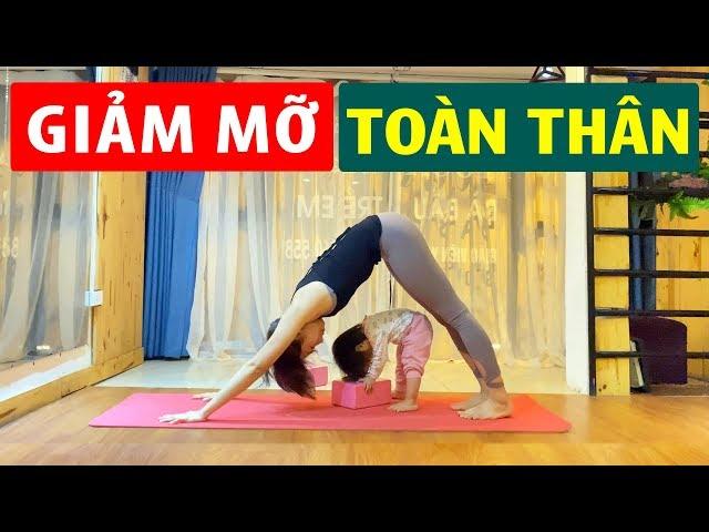 Giảm Mỡ Toàn Thân Dễ Dàng Với Bài Tập Yoga Đơn Giản Chỉ 20 Phút Dành Cho Người Bận Rộn | Luna Thái