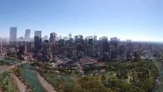 Calgary Downtown - The Drone Eyes