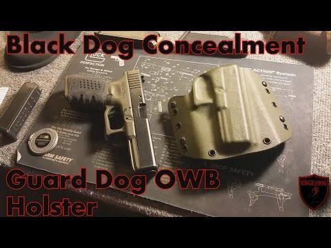 Blackdog Concealment Guard Dog OWB Holster Glock 22 Holster ...
