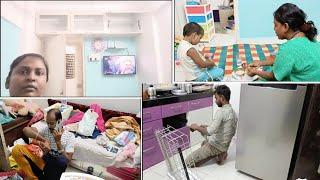 Humare Naye Ghar ka 2nd Day Aisa Tha🤩 Home Shifting Vlog