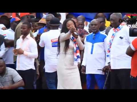 Akufo Addo Will Not Allow Ghana To Plunge Into Destruction Diana Asamoah Youtube