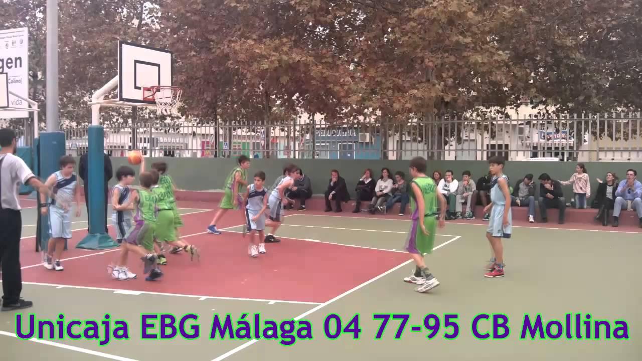 J3 minibasket masculino unicaja ebg m laga 04 cb mollina youtube - Muebles mollina malaga ...
