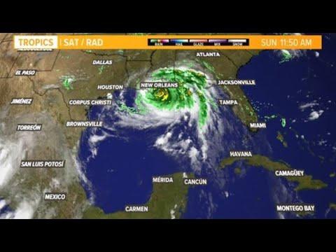 Hurricane Ida Has Made Landfall In Louisiana As A Category 4 Storm