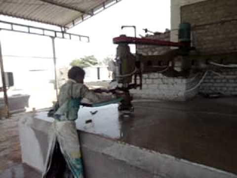 Granite Polishing Machine Youtube