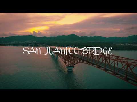 Drone Footage of San Juanico Bridge - The Longest Bridge in the Philippines