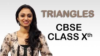Learn Triangles Theorem Class 10th Math Tutorial Videos
