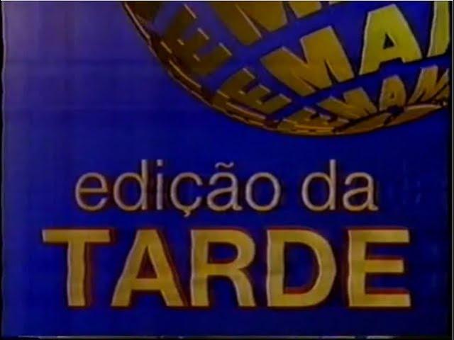 Intervalo Rede Manchete - Edição da Tarde - 27/02/1997 (5/7)