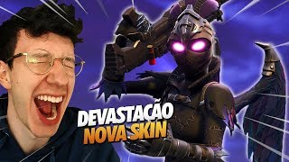 I MADE A DEVASTATION WITH THE NEW SKIN-FORTNITE